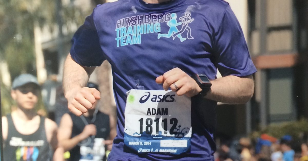 Hirshberg Training Team Participant Spotlight – Running with a Purpose. Racing towards a Cure